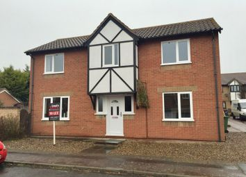 Thumbnail 4 bed detached house to rent in Cotman Drive, Bradwell, Great Yarmouth