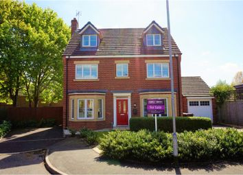 Thumbnail 5 bed detached house for sale in Goodall Close, Stone