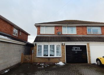 Thumbnail 3 bed semi-detached house for sale in The Hayes, Northfield, Birmingham