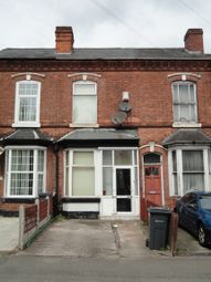 Thumbnail 2 bed terraced house for sale in Wellington Road, Birmingham, West Midlands