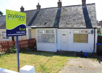 Thumbnail 2 bed semi-detached bungalow to rent in Margate Road, Ramsgate