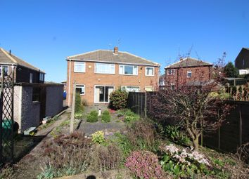 Thumbnail 3 bed semi-detached house for sale in Rutland Drive, Kippax, Leeds