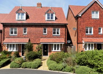 Thumbnail 4 bed semi-detached house for sale in Treetops Way, Heathfield