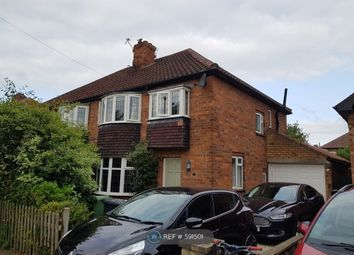 Thumbnail 3 bed semi-detached house to rent in White House Gardens, York