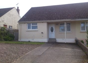 Thumbnail 2 bed semi-detached bungalow to rent in Crundale, Haverfordwest