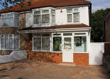 Thumbnail 3 bedroom semi-detached house to rent in Russell Road, Northolt