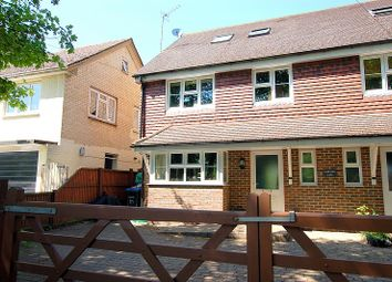 Thumbnail 4 bed semi-detached house for sale in Rickman Crescent, Addlestone