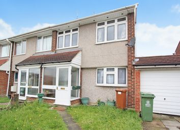 Thumbnail 3 bed terraced house to rent in Croft Close, Upper Belvedere