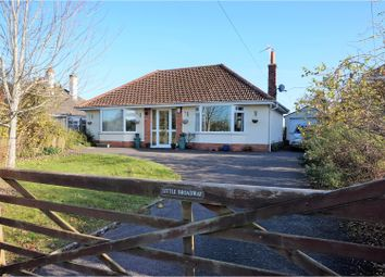 Thumbnail 3 bed detached bungalow for sale in Stoke Road, Taunton
