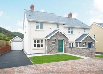 Thumbnail 3 bed semi-detached house for sale in Hay On Wye/Brecon, Llyswen