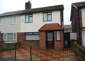 Thumbnail 3 bed semi-detached house to rent in Raleigh Road, Leasowe Wirral