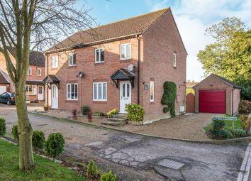Thumbnail 2 bed semi-detached house for sale in Hemlington, Norwich, Norfolk