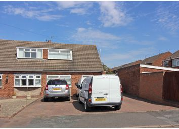 Thumbnail 3 bed semi-detached bungalow for sale in Sheila Avenue, Wednesfield, Wolverhampton
