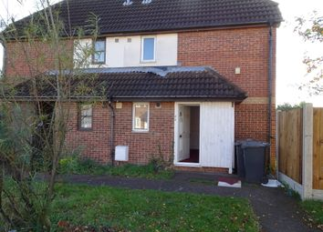 Thumbnail 1 bed end terrace house to rent in Milliners Way, Luton