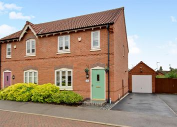 Thumbnail 3 bed semi-detached house for sale in Hirst Close, Arnold, Nottingham