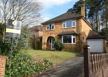 Thumbnail 3 bed detached house for sale in Beaufront Close, Camberley, Surrey