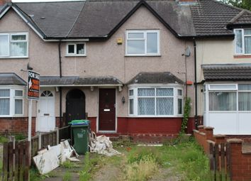 Thumbnail 2 bed terraced house for sale in Westbury Road, Wednesbury