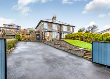 Thumbnail 3 bed semi-detached house for sale in Greenfield Road, Holmfirth