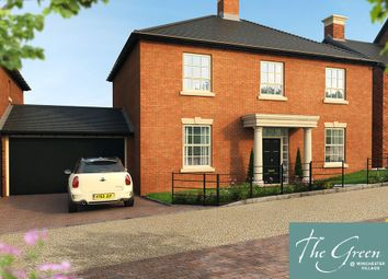 "Thumbnail 5 bed detached house for sale in ""The Dashworth @ The Green"" at Romsey Road, Winchester"