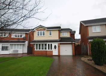 Thumbnail 4 bedroom detached house for sale in Chollerford Close, Gosforth, Newcastle Upon Tyne
