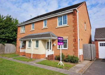 Thumbnail 3 bed semi-detached house for sale in Normanton Drive, Loughborough
