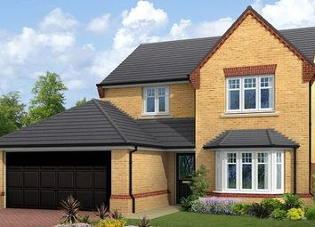 "Thumbnail 4 bed detached house for sale in ""The Ingleton"" at Cowick Road, Snaith, Goole"