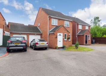 Thumbnail 3 bed detached house for sale in Rowley Close, Swadlincote