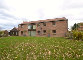 Thumbnail 5 bed detached house for sale in Foggathorpe, Selby