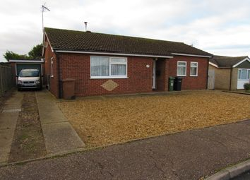 Thumbnail 3 bed detached bungalow for sale in Rolfe Crescent, Heacham, Kings Lynn, Norfolk