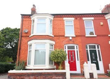 Thumbnail 4 bed end terrace house for sale in Brabant Road, Aigburth, Liverpool