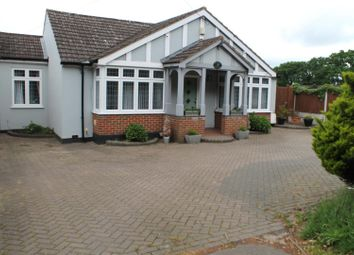 Thumbnail 3 bed detached bungalow for sale in Tysea Hill, Stapleford Abbotts, Romford, Essex