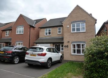 Thumbnail 4 bed detached house to rent in Pipistrelle Way, Oadby, Leicester