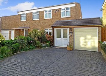 Thumbnail 3 bed semi-detached house for sale in Knapton Close, Chelmsford, Essex