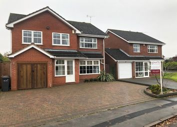 Thumbnail 4 bed detached house to rent in Starbold Crescent, Knowle, Solihull