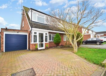 Thumbnail 3 bed semi-detached house for sale in Waylands, Swanley, Kent