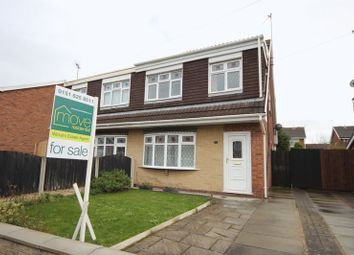 Thumbnail 3 bed semi-detached house for sale in Kestrel Close, Saughall Massie, Wirral