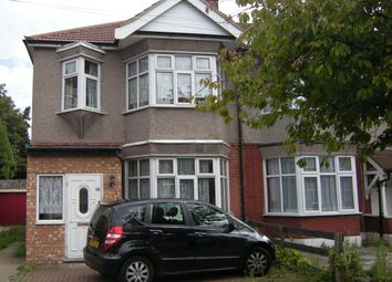 Thumbnail 3 bedroom end terrace house to rent in Lancing Road, Newbury Park, Ilford