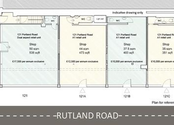 Thumbnail Retail premises to let in 121 A/B/C Portland Road, Hove, East Sussex