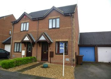 Thumbnail 2 bed semi-detached house to rent in Granary Road, East Hunsbury, Northampton