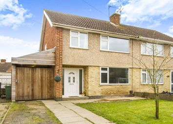 Thumbnail 3 bed semi-detached house for sale in Laurel Road, Blaby, Leicester