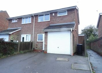 Thumbnail 2 bed semi-detached house for sale in Charnwood Road, Barwell, Leicester