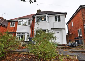 Thumbnail 3 bed semi-detached house to rent in Woolacombe Lodge Road, Selly Oak, Birmingham