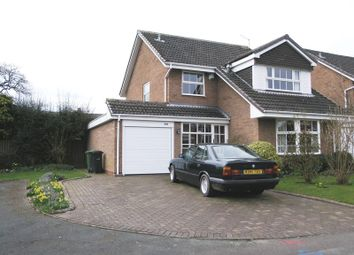 Thumbnail 4 bed detached house for sale in Birley Grove, Hayley Green, Halesowen
