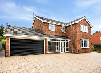 Thumbnail 4 bedroom detached house for sale in Drywood Avenue, Worsley, Manchester