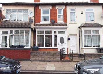 Thumbnail 2 bed terraced house for sale in Farnham Road, Handsworth, Birmingham