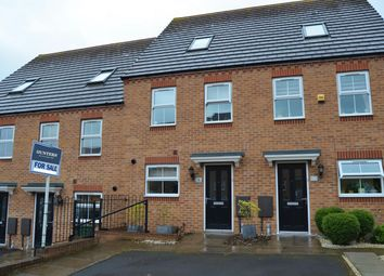 Thumbnail 3 bed town house for sale in Wellspring Gardens, Dudley