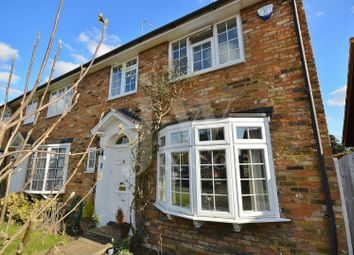 Thumbnail 4 bed end terrace house for sale in The Danes, Park Street, St. Albans