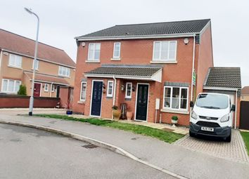 Thumbnail 2 bed semi-detached house to rent in Jubilee Close, Cherry Willingham, Lincoln