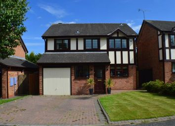 Thumbnail 4 bed detached house for sale in Hazel Drive, Armitage, Staffordshire