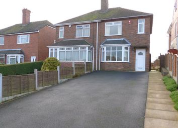 Thumbnail 3 bed semi-detached house for sale in Brown Lees Road, Brown Lees, Staffordshire